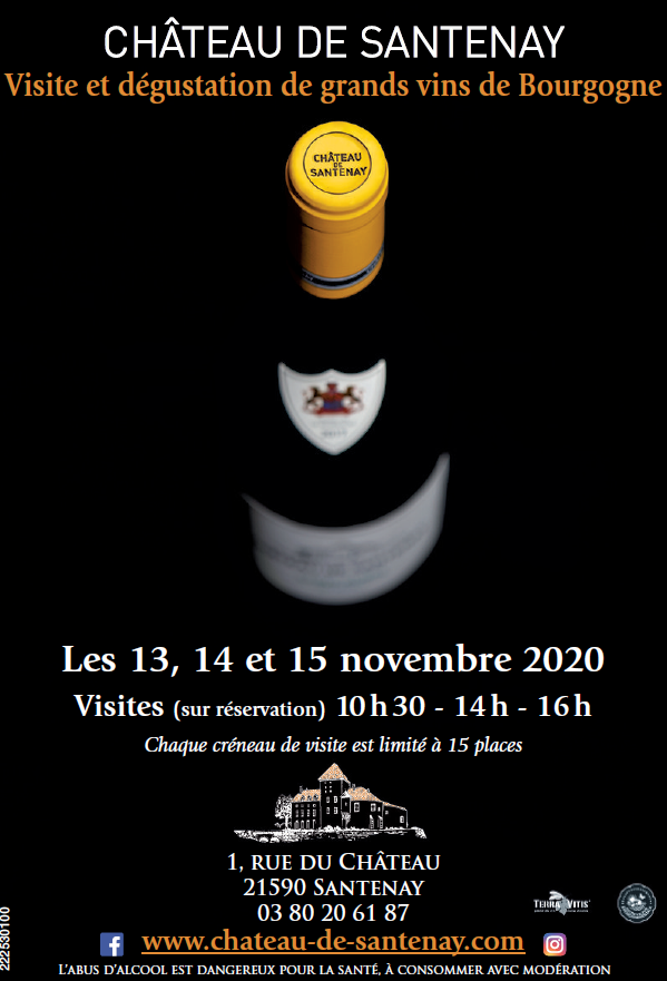Cancellation - Tours and tasting during Hospices de Beaune Wine Auction